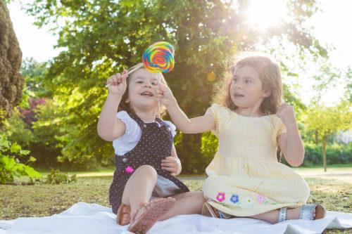 Toda a alegria de criança